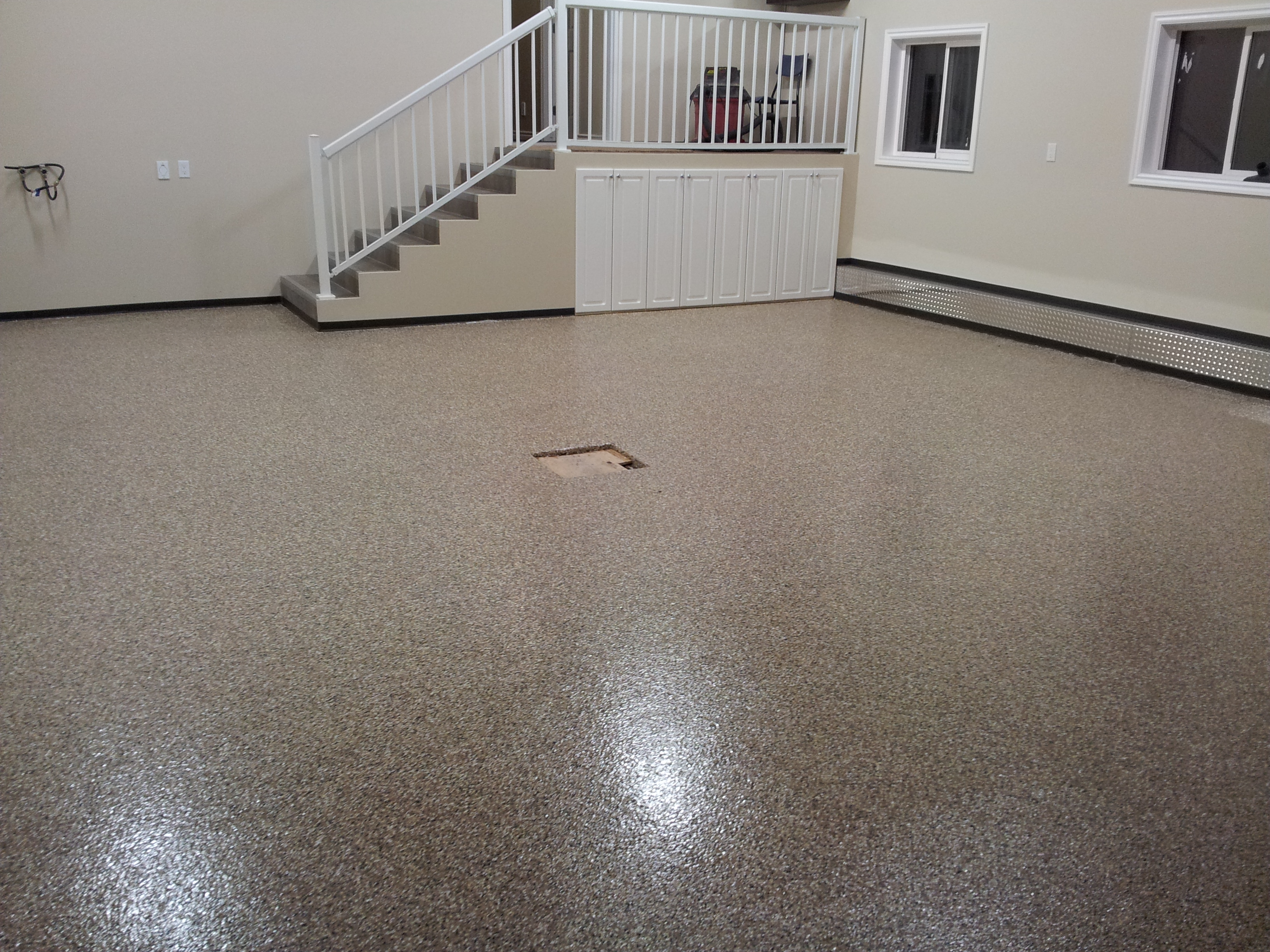 columbus floor for commercial flooring epoxy coating garage ohio